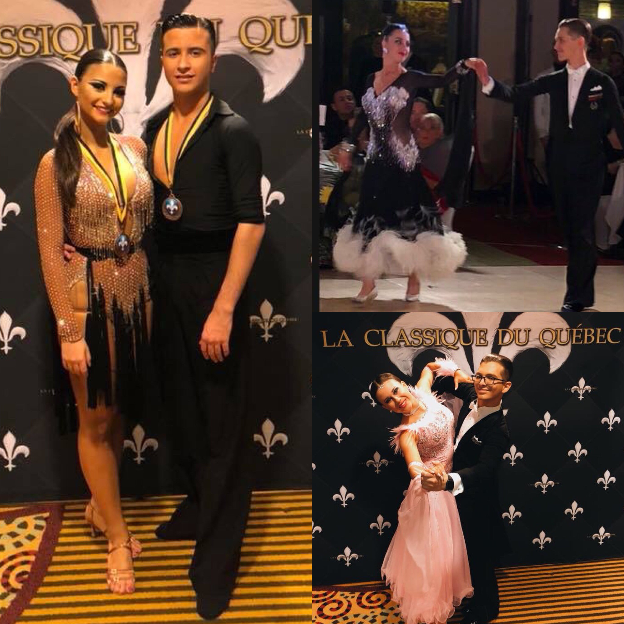 Congratulations to our couples who competed at La Classique du Quebec!