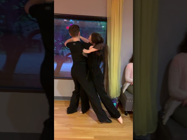 Michael & Margaret practicing their fiery Tango!