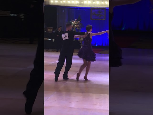 Anna and Sergiy at Dancing a la Carte!