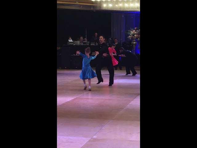 Polina and Andriy dancing the Jive!