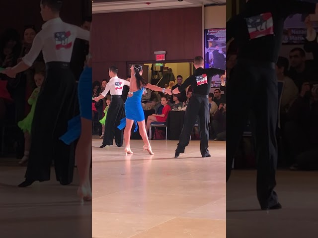 Sergiy and Sonya dancing the Rumba at the 2018 Eastern Dancesport Championships!