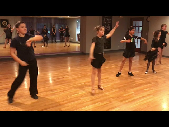 Group Cha Cha Open Basic Routine