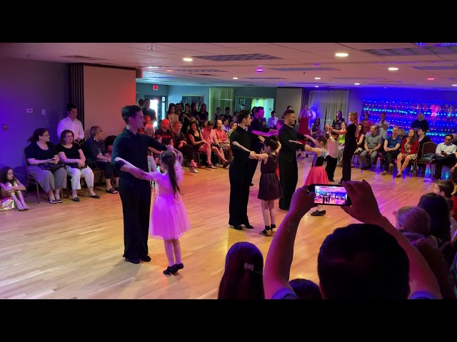 Waltz show performance by beginner dancers!