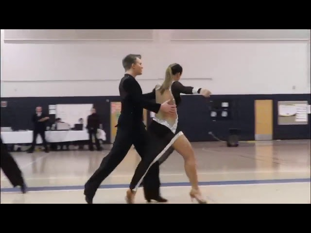 Alan & Taylor at the 17th annual Tufts University Ballroom Competition!