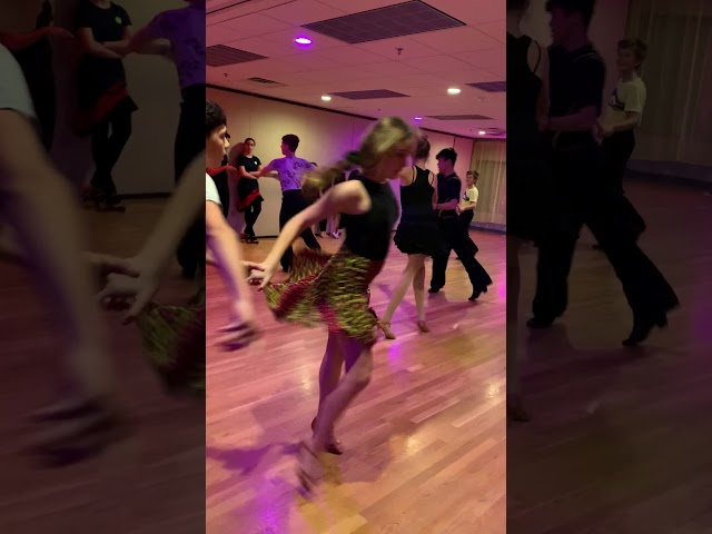 Weekly Latin Rounds at Dance Fever studio!