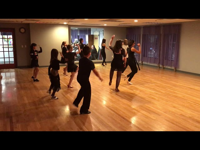 Open Level Latin Group Class Cha Cha Combo!