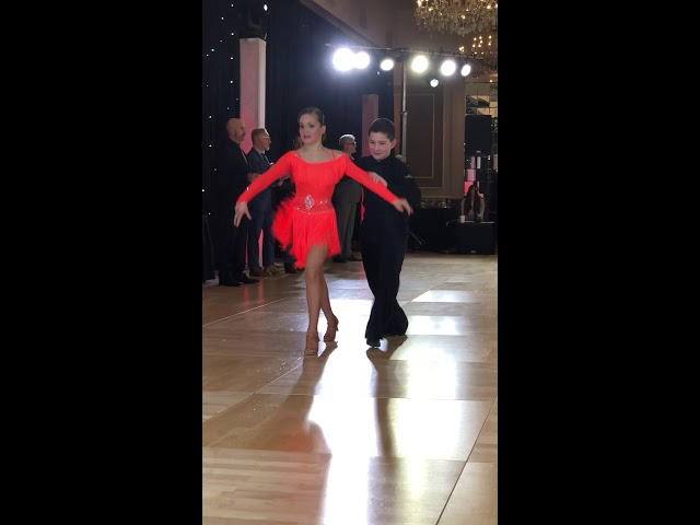 Mark & Rena dancing the Samba at the Boston DanceSport Cup!