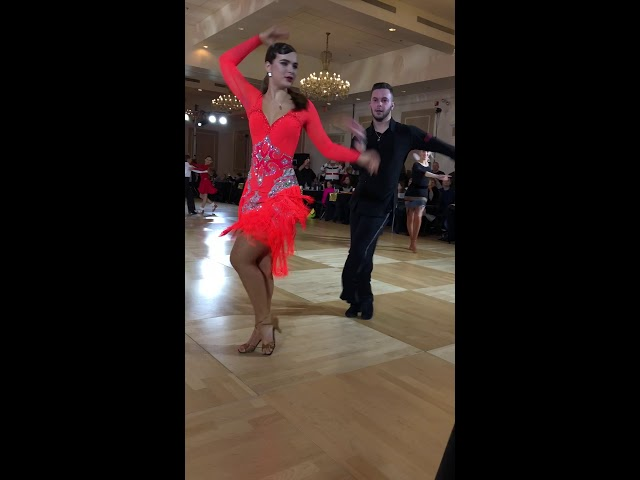 Kristina and Allen at Boston Dancesport Cup!