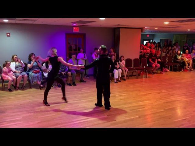 Allen Rudman and Sveta Lesnaya at the Dance Fever Showcase!