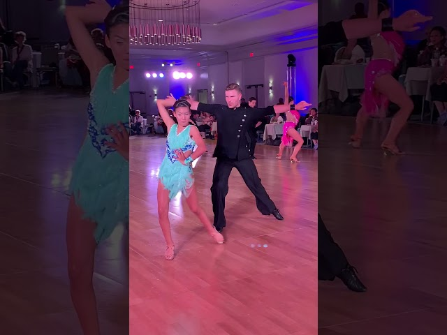 Angela and Sergiy dancing the Jive at the Yankee Classic 2019!