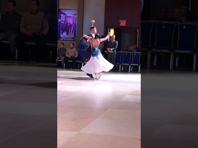Fedor and Sasha dancing the Waltz at the 2018 Eastern Dancesport Championships!