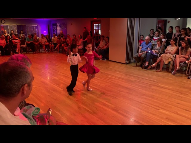 Lucas and Sophia Latin Dance Show