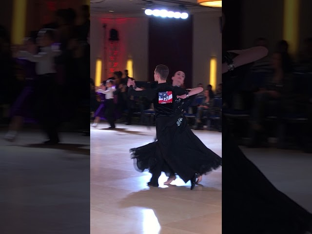 Lily and Sasha dancing the Tango at the 2018 Eastern Dancesport Championships!