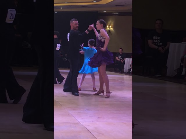 Anna and Sergiy dancing the Rumba!