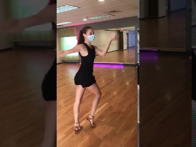 Open Level Cha Cha Latin Practice