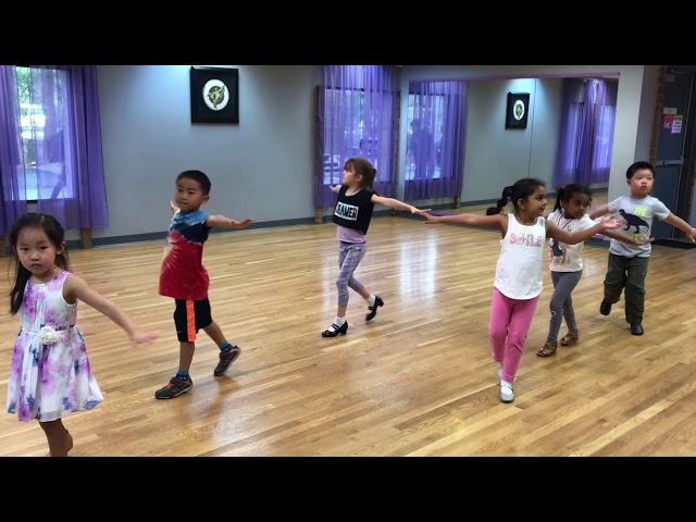 Little Kids Ballroom Dancing